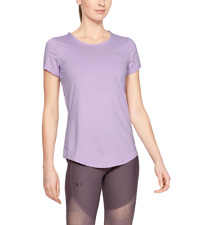 Under Armour UA Women's Armour Sport Short Sleeve T-Shirt - Purple - New