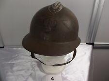 4)Frankreich militaire francais Adrian-Helm WW II casque regis ultima Infanterie