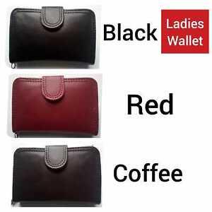 Ladies Women Girls Plain Wallet Purse Clutch Suitable for Various Use Card Coins