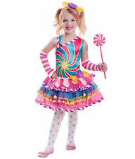 7 Part Candy Sugar Girl Costume Ladies Playful Sweet S-3XL