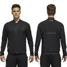 adidas Mens Barricade Lightweight Training Track Top Zipped Sports Bomber Jacket