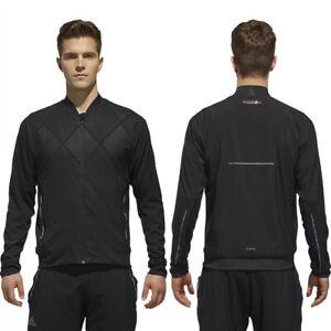 adidas Mens Barricade Lightweight Training Track Top Zipped Sports Bomber Jacket