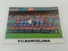POSTAL FC BARCELONA TEAM 1990 1991 90-91 SEASON FOOTBALL POSTCARD CRUYFF