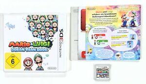 Nintendo 3DS Rollenspiel MARIO & LUIGI DREAM TEAM BROS. dt Action Adventure