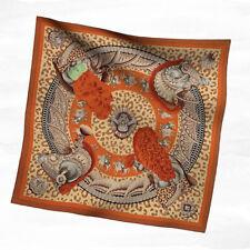 Hermes Casques Et Plumets 100% Silk Twill Scarf 90 x 90cm - New