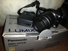 Panasonic LUMIX DMC-GF5W 12.1MP Digital Camera - Black with box and 14-42 lens