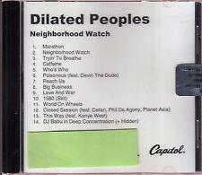 dilated peoples neighborhood watch cd limited edition neu