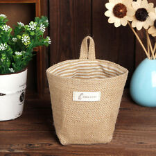 Non Woven Storage Basket Bag  Laundry Hanging Hamper Sack Cloth Washing Tidy