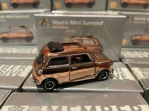 TINY Morris Mini Cooper Garage D2 Event 1/50 Mini Cooper SunRoof Chrome Member