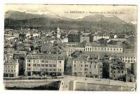 CPA 38 Isère Grenoble Panorama de la ville et des Alpes