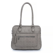 New Lusso Genuine Italian Vintage Leather Handbag - Divine Distressed Grey!