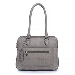 New Lusso Genuine Italian Vintage Leather Handbag - Divine Distressed Grey!
