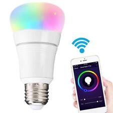 Smart WiFi Light 7w B22/e27 RGB LED Bulb for Amazon Alexa Echo Remote Control E27