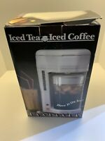 Salton Iced Tea Coffee Maker Model KM-44 2 Liter NEW IN BOX BRAND NEW VINTAGE
