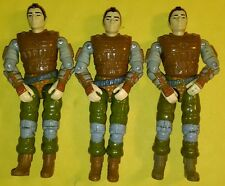 Vintage 1988 GI Joe X3 Cobra Budo V1 Figure Lot