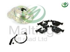 range rover l322 performance drilled+grooved brake discs and pads terrafirma