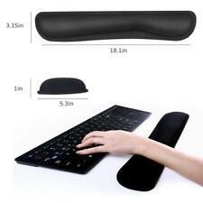 2tlg.Handgelenkauflage für Tastatur& Maus Handballenauflage ergonomische Pad Set