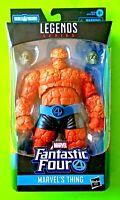 """Marvel Legends Fantastic Four 6"""" Thing Figure (Super Skull BAF) - NEW/SEALED"""