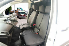 Ford Transit Connect TREND 2013on Tailored Front Seat Covers Driver Double Black