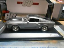 Ford Shelby Mustang GT 500 E 1967 v8 Eleanor tv cinéma Movie 60 S SP 1:43