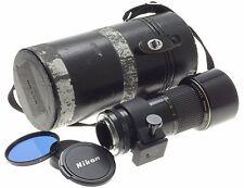 AI-S NIKKOR ED 300mm 1:4.5 FITS DF CAPS FILTER CASE 300/4.5 SLR NIKON LENS f=300