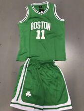 Boston Celtics Kyrie Irving Jersey Set Kids Size Green