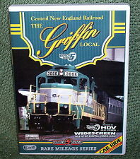 "b006 TRAIN VIDEO DVD ""CENTRAL NEW ENGLAND RAILROAD GRIFFIN LINE"""
