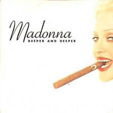 ☆ CD SINGLE MADONNA Deeper and deeper 6 Tr CARDSLEEVE ☆