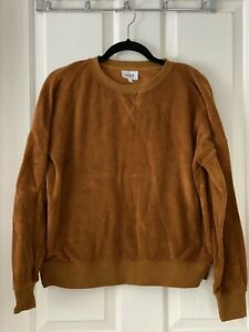 SEED Top Cotton Size S Rust Colour Long Sleeves Never Worn