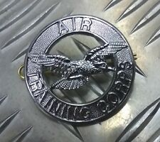 Genuine British RAF ATC (Air Training Corps) Metal Cap / Beret  Badge - NEW