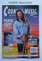 COUNTRY MUSIC PEOPLE MAGAZINE - April 1996 - Travis Tritt / Dale Watson