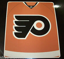 NHL NWT ROYAL PLUSH RASCHEL THROW BLANKET JERSEY DESIGN - PHILADELPHIA FLYERS