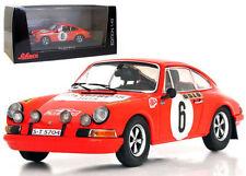Schuco Porsche 911S Monte Carlo Rally 1970 - B Waldegaard 1/43 Scale