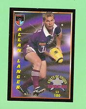 1994 Series 2   RUGBY LEAGUE  ALLAN LANGER  CARD #180 - QUEENSLAND ORIGIN