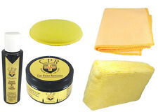 All Natural Car Polishing and Scratch Remover Wax Kit/ Applicator Sponge