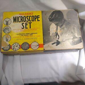 Vintage Gilbert Microscope set