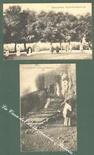Lazio. ROCCA DI PAPA, Roma. Due cartoline d'epoca viaggiate nel 1909 e nel 1916.