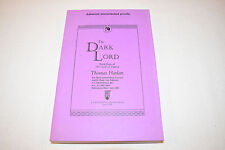 THE DARK LORD Thomas Harlan ADVANCE UNCORRECTED PROOF Vol 4 Oath of Empire RARE!