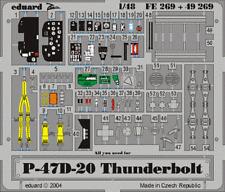 Eduard Zoom FE269 1/48 Republic P-47D-20 Thunderbolt Hasegawa