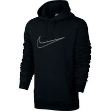 Men's New Nike Logo Fleece Hoodie Hoody Hooded Sweatshirt Jumper Pullover Jacket