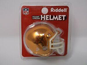 NFL CLEVELAND BROWNS Riddell Pocket Chrome Helmet