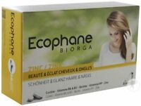 NEW Ecophane Biorga Food Supplements damaged hair loss fragile nails tablets x60