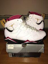 Nike Air Jordan White/Black-Cardinal Vll 7 Retro Size 10 304775-104