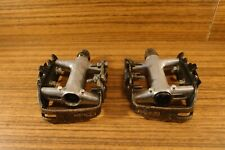 1990 Shimano Deore DX pedals PD-M650 made in Japan 9/16''