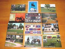 Lot of 12 Postcards US Civil War, Robert E. Lee Flags Appomattox etc. - Postcard