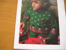 KNITTING PATTERN FOR BOYS SOLDIER JUMPER.