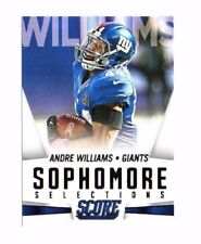 Andre Williams 2015 Panini Score, Sophmore Selections, Football Card !!