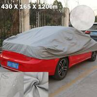 Outdoor Waterproof M 2 Layer Full Car Cover 100% Breathable UV Protection UK
