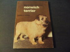 How To Raise and Train an Norwich Terrier by Fournier First Print 1967 Id:68703