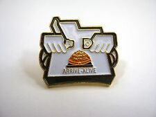Collectible Pin: Utah Highway Patrol Arrive Alive Seat Belt Safety